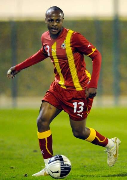 Le footballeur ghanéen André Ayew, 24 ans