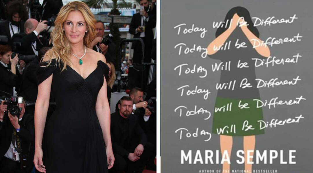 Même la grande Julia Roberts s'y met : pour l'adaptation du best-seller Today Will Be Different