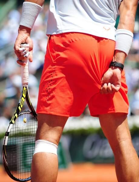 Pour Rafael Nadal, le tirage de slip, ça porte bonheur !