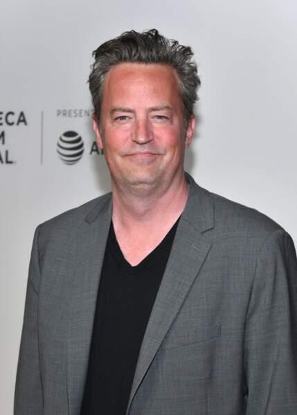 Son pote, Matthew Perry, alias Chandler, n'est plus tout à fait le même homme aujourd'hui