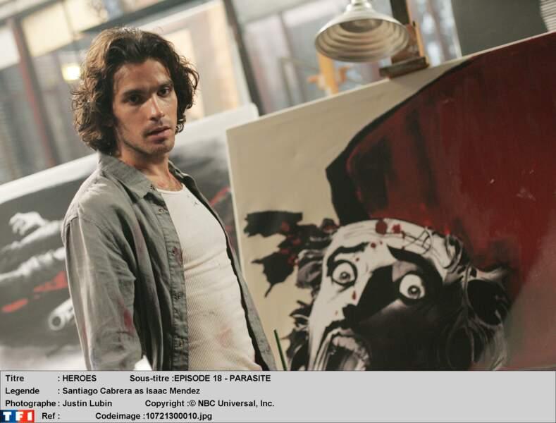 Revoilà le beau gosse chilien Isaac Mendez, joué par Santiago Cabrera
