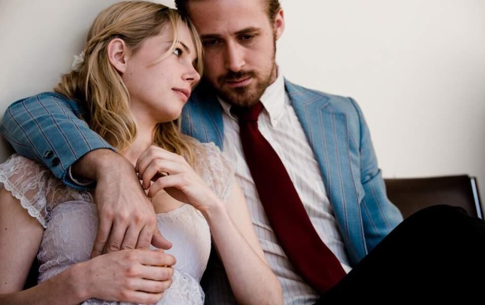 Ryan Gosling s'est lui un peu fait oublier jusqu'à son retour dans Blue Valentine avec Michelle Williams (2011)