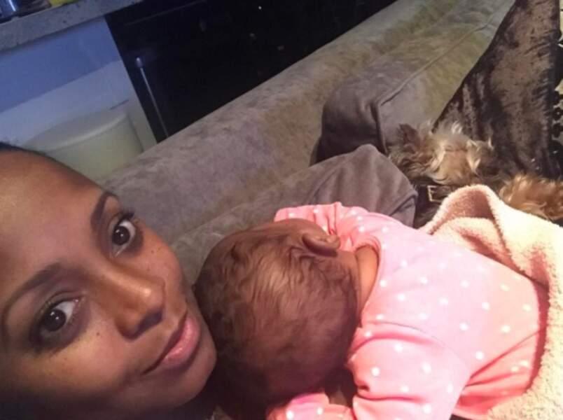 Abandonnée par son mari juste après l'annonce de sa grossesse, la jeune femme a accouché seule en 2017