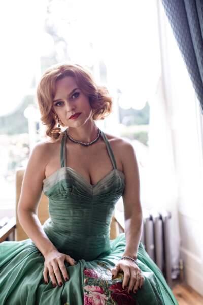 Gwenda Vaughan, la jeune maîtresse de Léo Argyll est jouée par…