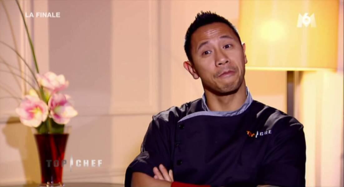 Bon Julien a été sélectionné en dernier par les finalistes, mais il s'en moque.