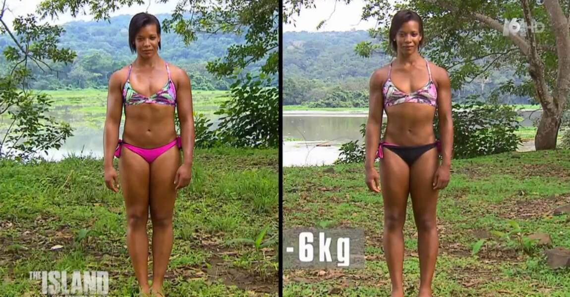 Pour l'ultra sportive Prana, c'est moins 6 kilos