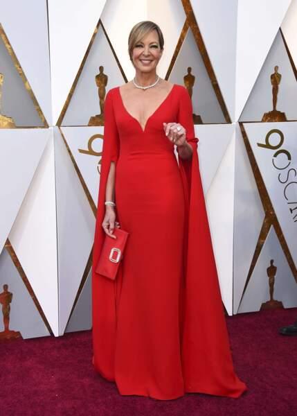 Allison Janney est lauréate de l'Oscar de la Meilleur actrice dans un second rôle, pour Moi, Tonya