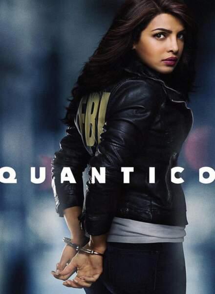 Depuis le 27 septembre 2015, Priyanka Chopra est la star de Quantico, la série à succès de ABC