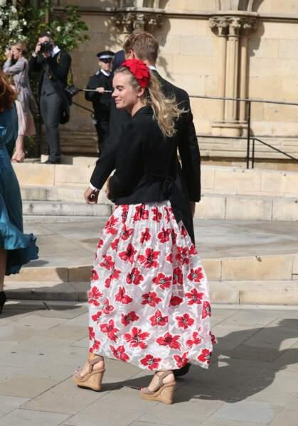 L'ex du prince Harry, Cressida Bonas, était là aussi