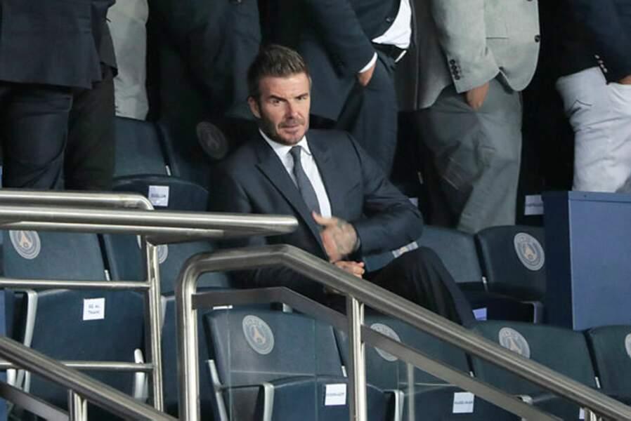 Le roi Beckham seul en tribune ? Pas pour longtemps…
