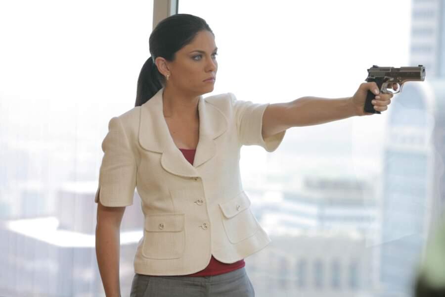 Jodi Lyn O'Keefe est arrivée dans la saison 3 avec le rôle de la terrible Gretchen Morgan