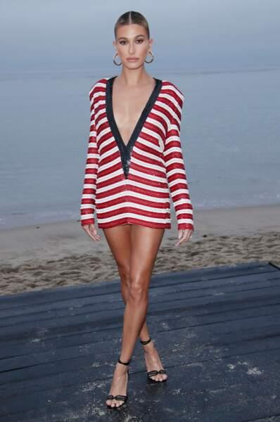 La jeune Hailey Baldwin, mannequin et fille de Stephen Baldwin, est aussi la femme de Justin Bieber.