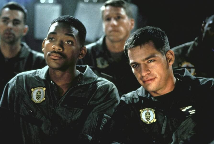 1996. La carrière de Will Smith est lancée et les blockbusters lui ouvrent les bras. Ici, Independance Day