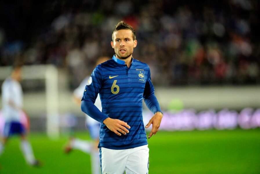 On commence avec les Frenchies : le footballeur français Yohan Cabaye, 28 ans...