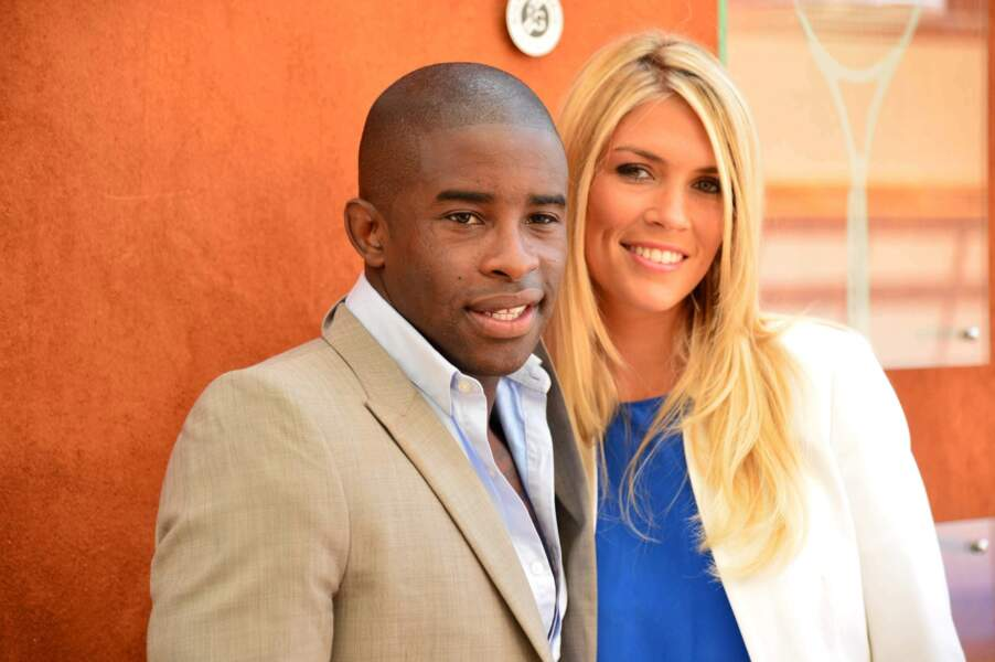 Le footballeur lillois Rio Mavuba et sa charmante compagne...