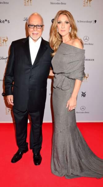 Céline Dion et René Angelil, décédé le 14 janvier 2016.