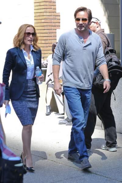 Et c'est parti pour un nouveau jour de tournage à Vancouver pour la nouvelle saison de X-Files