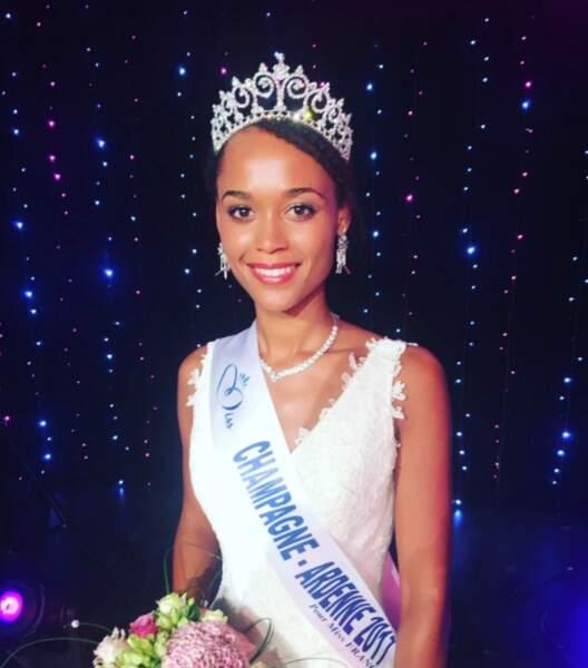 Safiatou Guinot (19 ans) a été élue Miss Champagne-Ardenne