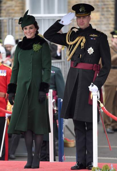 Le duc et la duchesse de Cambridge étaient de sortie ce samedi 17 mars