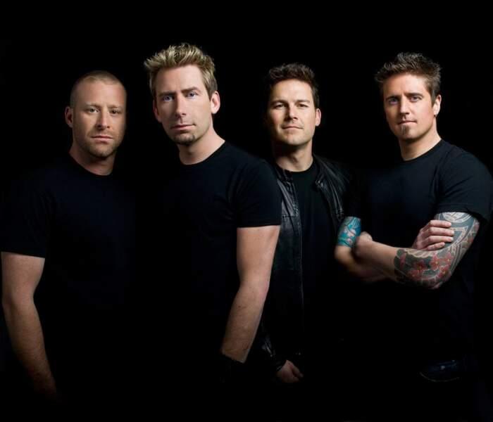 65. Nickelback (chanteurs)