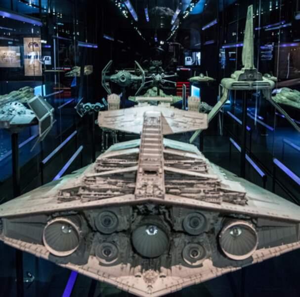 Des reproductions des célèbres vaisseaux de la saga