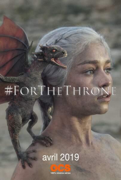 Khaleesi est la mère des dragons ! Une naissance qui ne s'est pas faite sans feu…