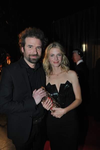 Cyril Dion et Mélanie Laurent ont reçu le César du Meilleur documentaire pour leur film Demain