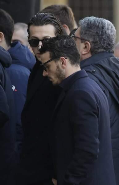 Le joueur de la Roma Alessandro Florenzi et Federico Bernardeschi, ancien coéquipier d'Astori à la Fiorentina