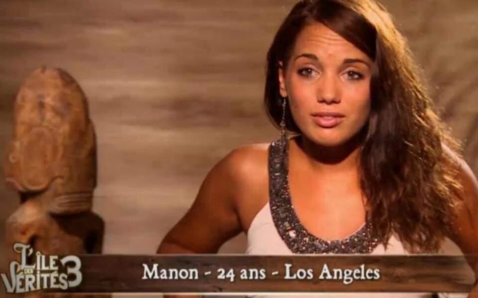 Manon Marsault en 2013 sur L'île des Vérités 3