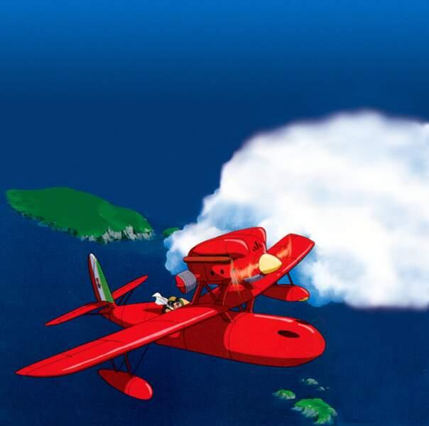 Porco Rosso (1992) : Une histoire d'aviateurs, un métier cher à Miyazaki qui a débuté en dessinant des avions