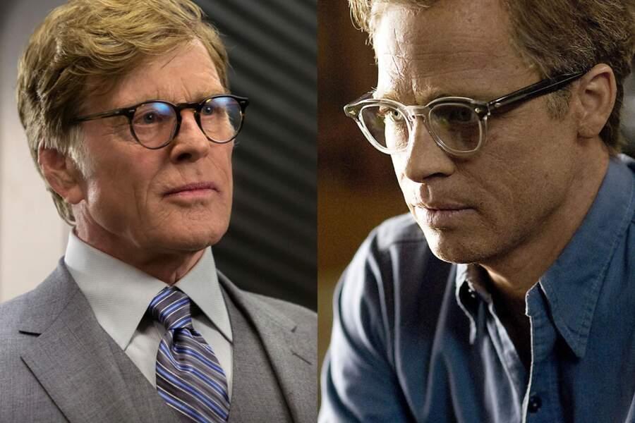 Bigleux : Robert Redford (Captain America, le soldat de l'hiver). Brad Pitt (L'étrange histoire de Benjamin Button)
