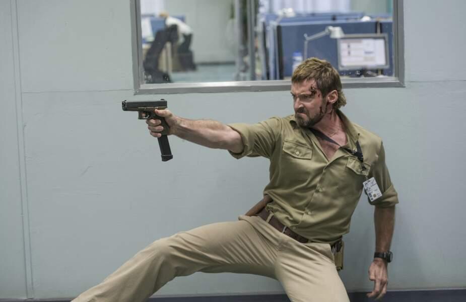 Hugh Jackman dans Chappie