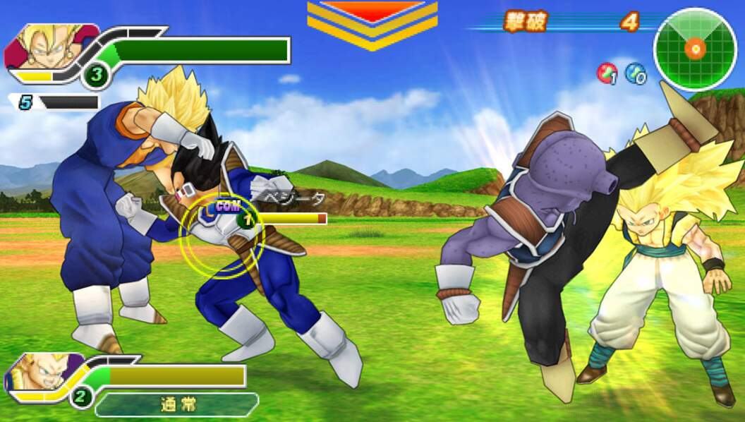 Dragon Ball Z: Tenkaichi Tag Team (2010 - PSP)