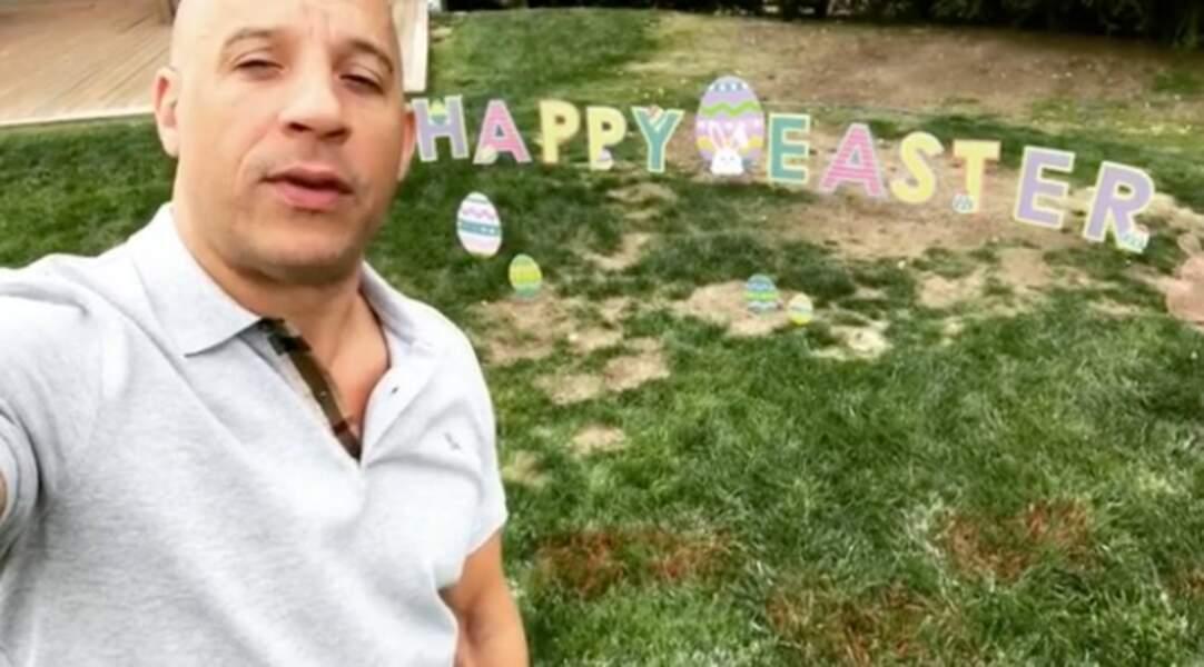 Vin Diesel avait bien décoré son jardin