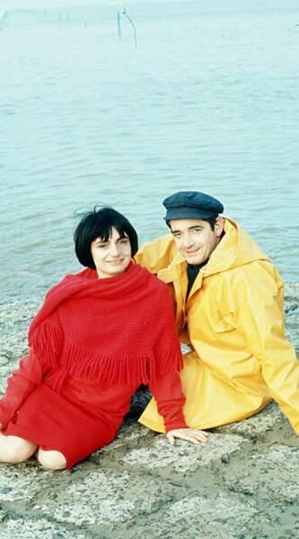 Agnès Varda et Jacques Demy, décédé le 27 octobre 1990.