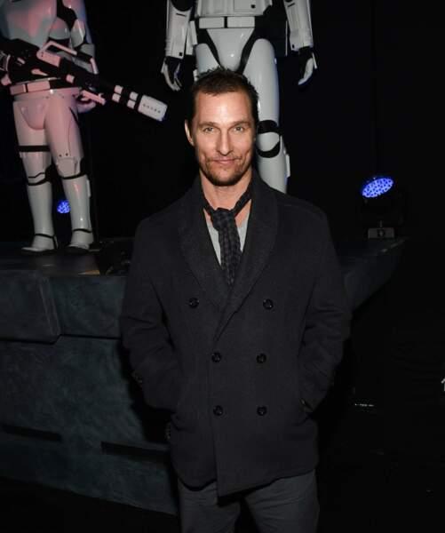 Matthew McConaughey, la classe même dans une galaxie lointaine, très lointaine