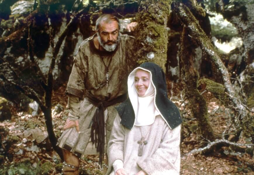 """Dans """"La Rose et la flèche"""" en 1976, elle joue Marianne au côté de Robin des bois (Sean Connery)"""