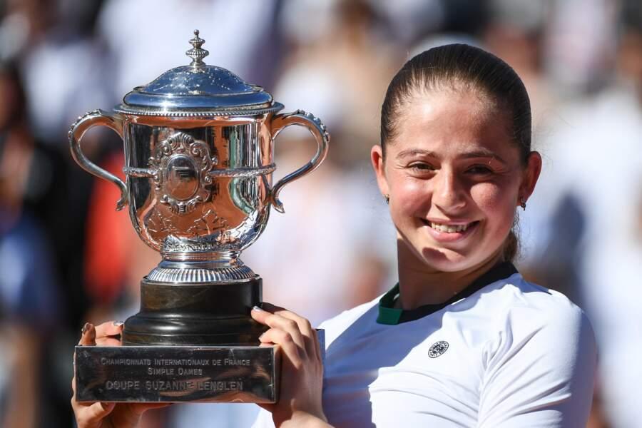 Jelena Ostapenko vainqueur en 2017