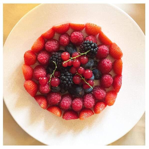 L'année dernière, déjà, Ana Ivanovic nous narguait avec ses photos de pâtisseries. Et elle remet ça !