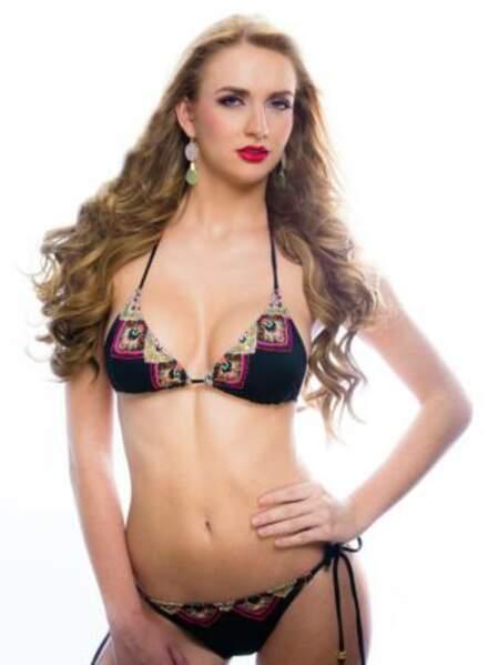 Nicole Van Tellingen porte les couleurs d'Aruba