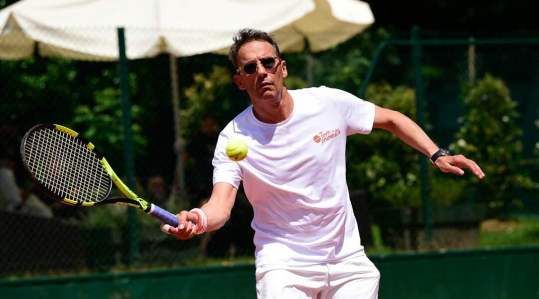Pour Julien Courbet, ce n'est pas que du tennis
