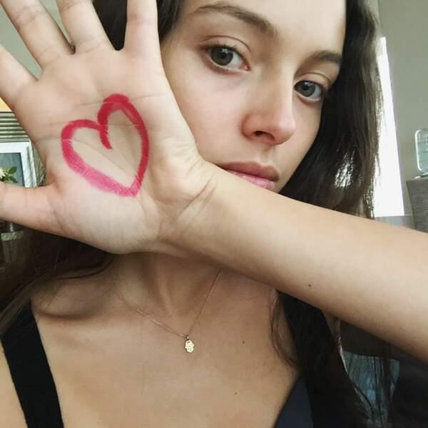 Comme son papa, elle a le coeur sur la main !