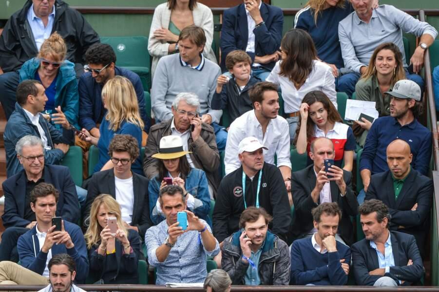 Au 3ème et 4ème jour de Roland-Garros, mardi 29 et mercredi 30 mai, les people sont venus en nombre !