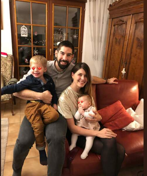 Noel en famille et le premier pour Nora