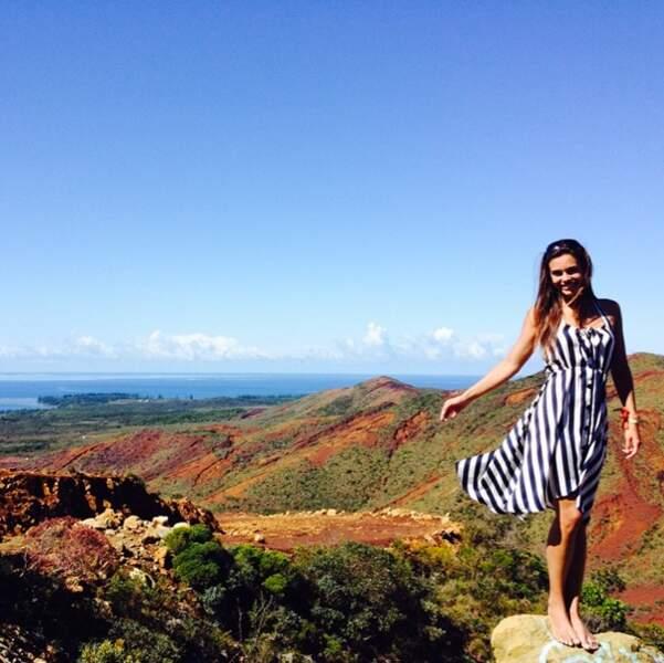 Du côté des Miss, Marine Lorphelin découvre la Nouvelle-Calédonie
