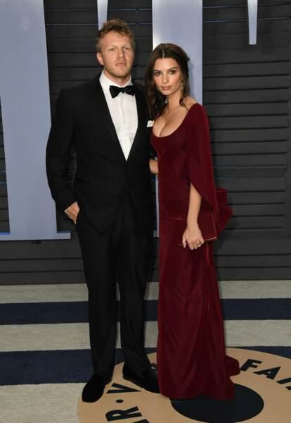 Le 23 février Emily Ratajkowski annonce sur Instagram son mariage surprise avec Sebastian Bear McClard