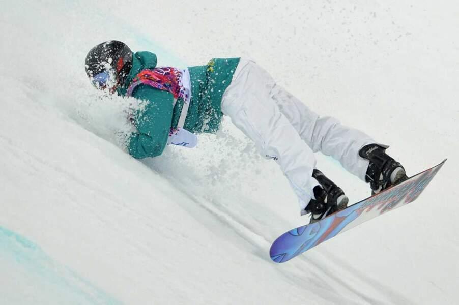 On continue avec celle de Kent Callister en slopestyle