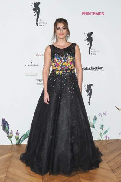 Rachel Legrain-Trapani avait sorti sa plus belle robe de soirée !
