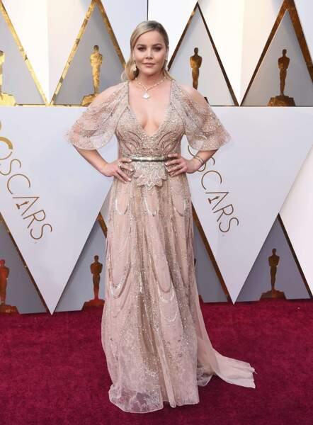 Abbie Cornish (Three Billboards…), Oscar de la robe la plus moche