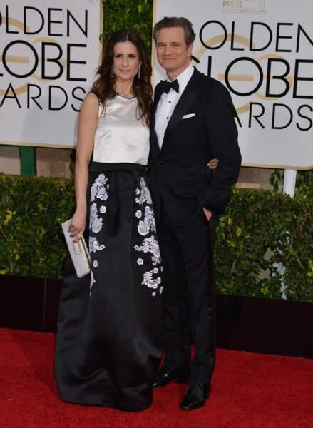 Colin Firth, le Mark Darcy de Bridget Jones, et son épouse